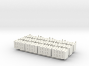 Small Factory X12 in White Natural Versatile Plastic