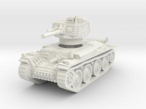 Panzer 38t G 1/87 in White Natural Versatile Plastic
