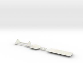02-Descent Stage Helium-Attachment-HGA in White Natural Versatile Plastic