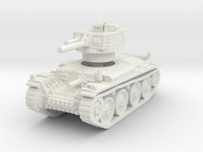Panzer 38t G 1/120 in White Natural Versatile Plastic
