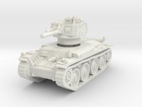 Panzer 38t S 1/100 in White Natural Versatile Plastic