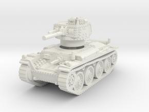 Panzer 38t S 1/87 in White Natural Versatile Plastic