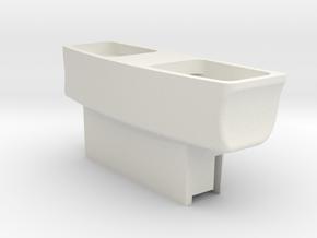 DJI Inspire 1 Battery Terminal Cap in White Natural Versatile Plastic