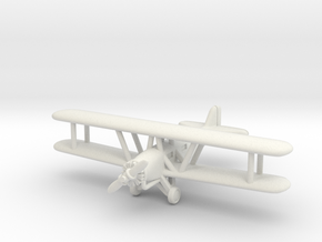 Boeing 40 1/285 6mm in White Natural Versatile Plastic