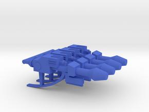 Space Glider Space Blasters in Blue Processed Versatile Plastic: Medium