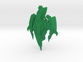 Breen - Warship in Green Processed Versatile Plastic