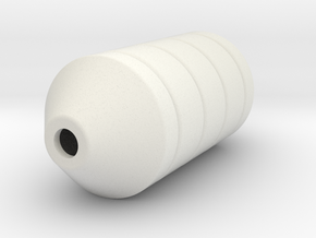 PEM13 support buoy - 3 mtr - 1:50 in White Natural Versatile Plastic