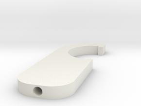 Tokyo Marui 417 Buffer Tube Wrench in White Natural Versatile Plastic