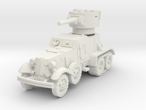BA-3 (with Tracks) 1/72 in White Natural Versatile Plastic