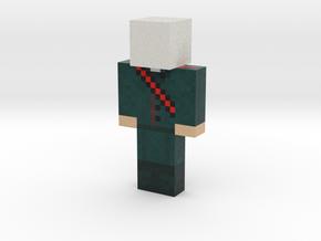 MrPromethee | Minecraft toy in Natural Full Color Sandstone