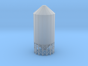 "'N Scale' - 45 degree-24' diameter x 55'-4"" high b in Smooth Fine Detail Plastic"