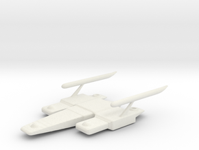 Time Trap Freighter  in White Natural Versatile Plastic