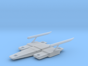 Time Trap Freighter  in Smooth Fine Detail Plastic