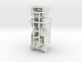 1/87 FDNY Seagrave SQUAD pump & body in White Natural Versatile Plastic