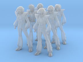 1/60 Macross Pilots Mixed Set (Hikaru, Max, Generi in Smoothest Fine Detail Plastic