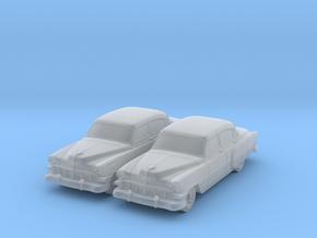 1954 Chevy 4 Door Bel-air (2) N Scale Vehicles in Smooth Fine Detail Plastic