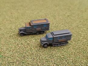 German Radiocars Henschel & KHD 1/285  in Smooth Fine Detail Plastic