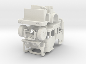 Philly Spartan cab2 in White Natural Versatile Plastic