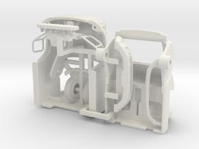 1/87 Light Rescue Cab in White Natural Versatile Plastic