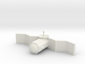 [1DAY_1CAD] SATELLITE (1/4 size) in White Natural Versatile Plastic