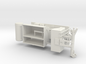 1/50th 7 Yard Volumetric Cement Mixer body in White Natural Versatile Plastic