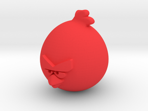 Angry Birds-Terence Keychain in Red Processed Versatile Plastic