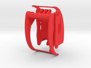 Holzgreifer in 1:24 in Red Processed Versatile Plastic