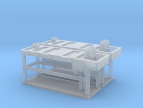 Autopsy Table 01. N Scale (1:160) in Smooth Fine Detail Plastic