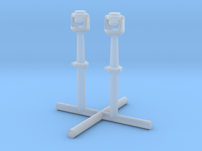 1/192 USN Compass Set x2 in Smooth Fine Detail Plastic