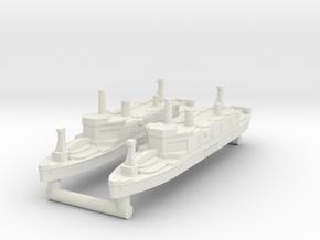 Shinsu Maru Assault Ship [x2] in White Natural Versatile Plastic