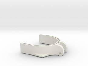 3dp Drill Cover Bottom in White Natural Versatile Plastic