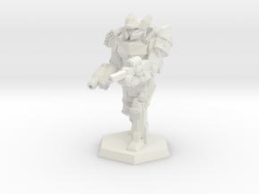 Mk6 Heavy Mech in White Natural Versatile Plastic