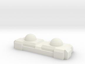 1:20th Scale track sensor in White Natural Versatile Plastic