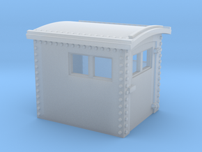 N&W Style Dog House O Scale 1:48 in Smooth Fine Detail Plastic