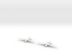 Me-321 German Glider 1/700 X2 in White Natural Versatile Plastic