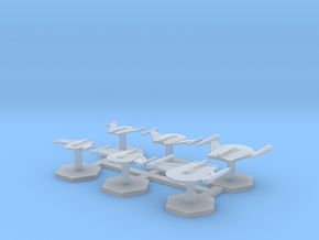 7000 Scale Romulan Fleet Eagle Builder Collection in Smooth Fine Detail Plastic