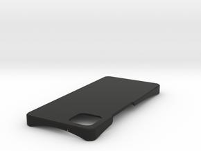 Pixel 4 xl minimal case in Black Natural Versatile Plastic