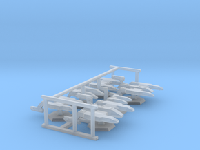 7000 Scale Lyran Fleet Core Collection CVN in Smooth Fine Detail Plastic
