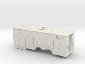 1/24 Heavy Rescue body in White Natural Versatile Plastic