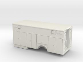 1/24 Heavy Rescue body single axle in White Natural Versatile Plastic