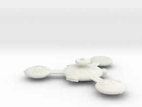 Omni Scale Gorn Augmented Battle Station SRZ in White Natural Versatile Plastic