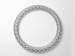 Hive bracelet - ultralight in Polished Silver