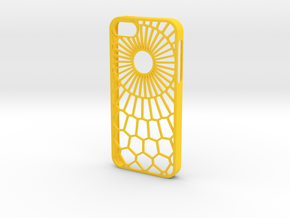Sunny Day iPhone 5/5s case in Yellow Strong & Flexible Polished