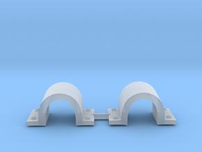 1/72 DKM Destroyer Anchor brackets Set x2 in Smooth Fine Detail Plastic