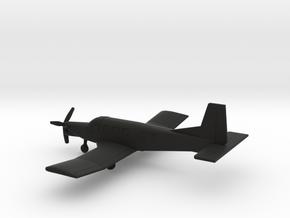 PAC 750XL in Black Natural Versatile Plastic: 1:200