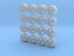 Advan RD-G 8MM OD - 4 sets in Smoothest Fine Detail Plastic