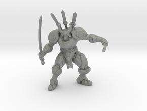 Mecha Samurai 1/60 miniature for games and rpg in Gray PA12