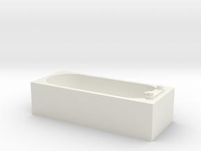 Modern Bath 1/35 in White Natural Versatile Plastic