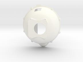 427 Ford bellhousing 1/8 in White Processed Versatile Plastic