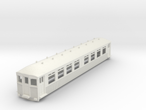 o-87-mersey-railway-1923-trailer-coach in White Natural Versatile Plastic